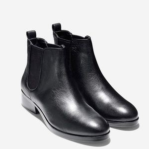 NEW Cole Haan Landsman Leather Ankle Bootie in BOX